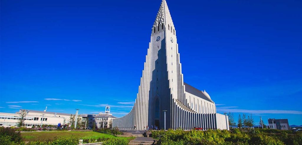 Catedral de Reikiavik, Islandia