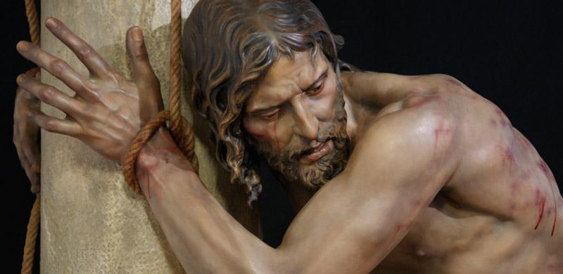 La flagelación de cristo imagen