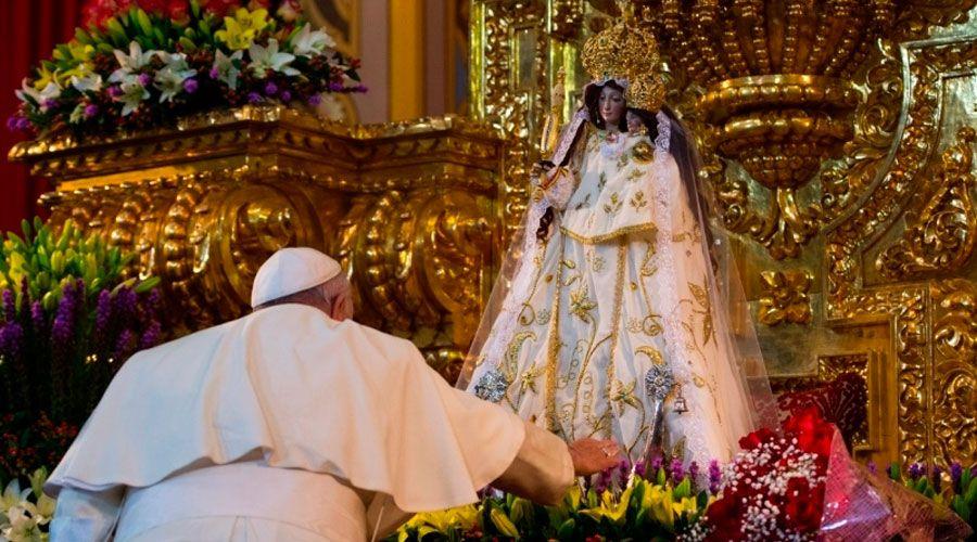 Nuestra Señora del Quinche imagen