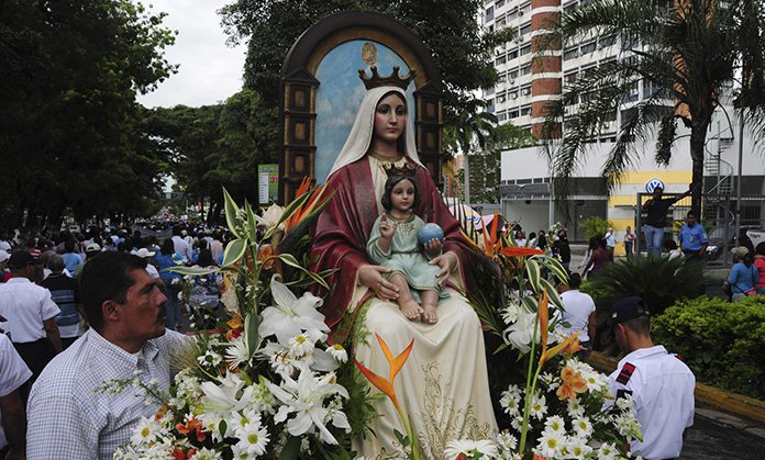 Virgen de Coromoto imagen