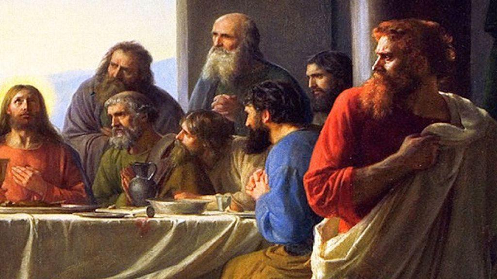 jesus se despide de sus discipulos