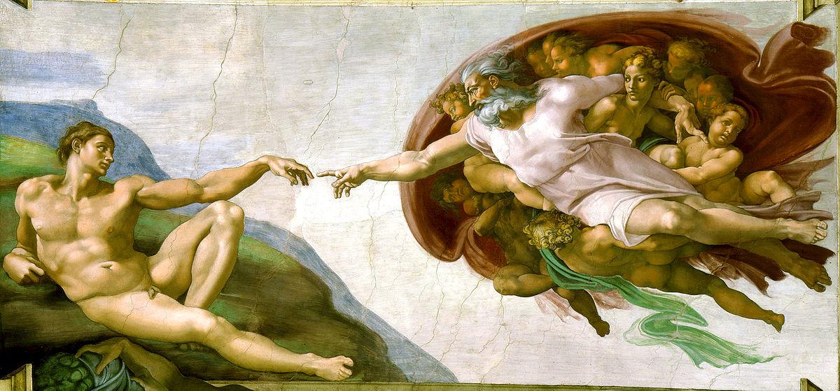 Creación de Adán imagen