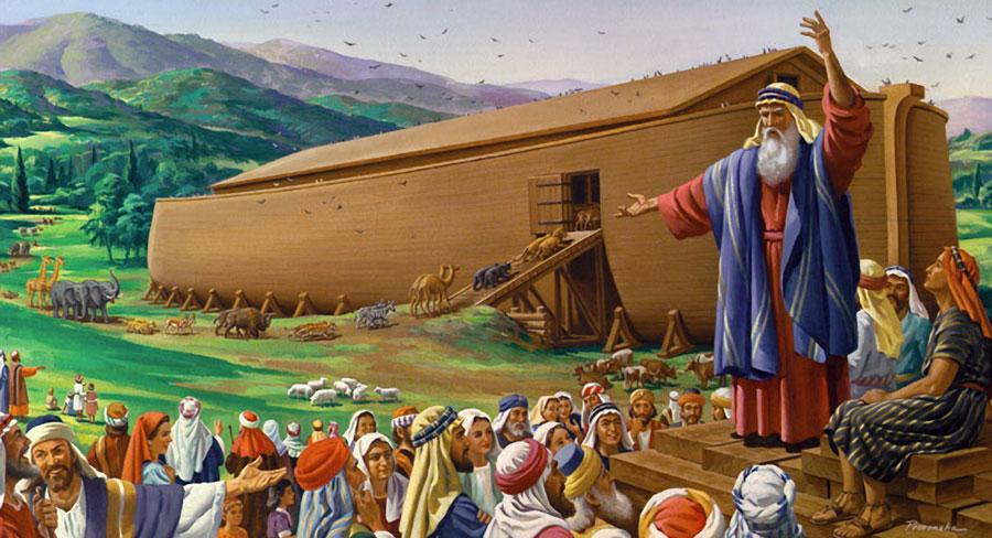 imagen del arca terminada