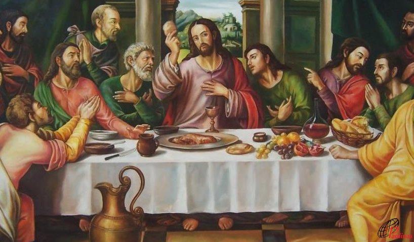 jesus reparte el pan imagen